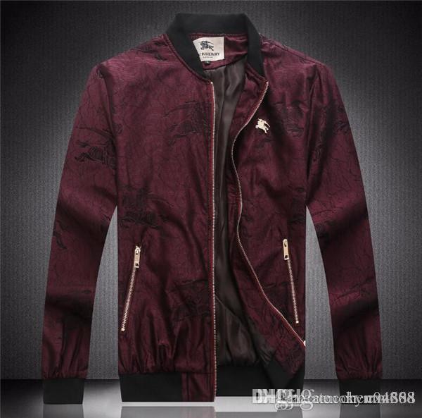erkek giyim parti için sonbahar ve kış, lüks moda hattı için yeni yüksek kaliteli Avrupa ceket, BOYUT M ~ 3XL # 1040
