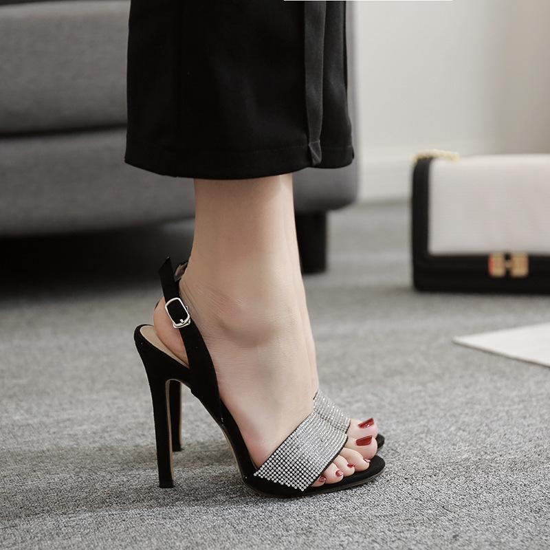 Fashion2019 Una Summer Style One Portare Lussuoso strass fine con i sandali Sì Do 40 lll
