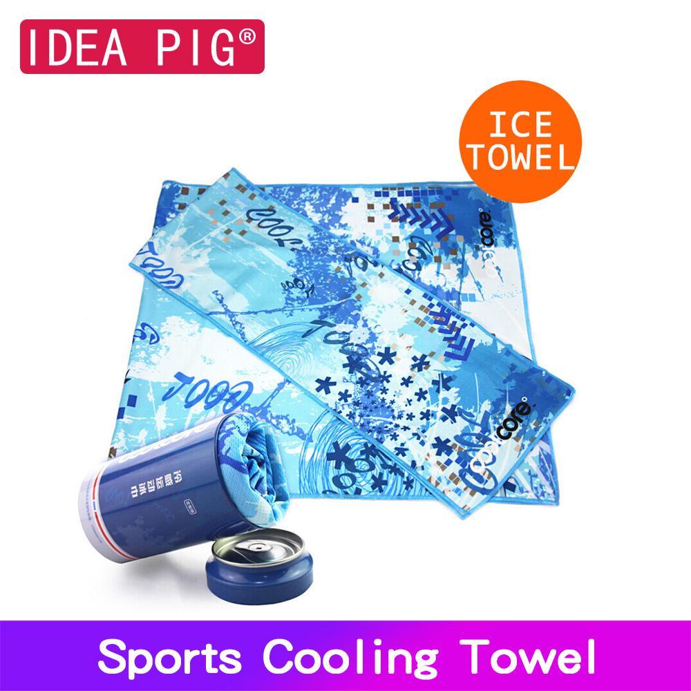 Melhor toalha de rosto de refrigeração Esporte gelo fria Toalha Quicky-seco instantâneo Toalha Banco Chilly Gym Fitness Excerise para mulheres dos homens