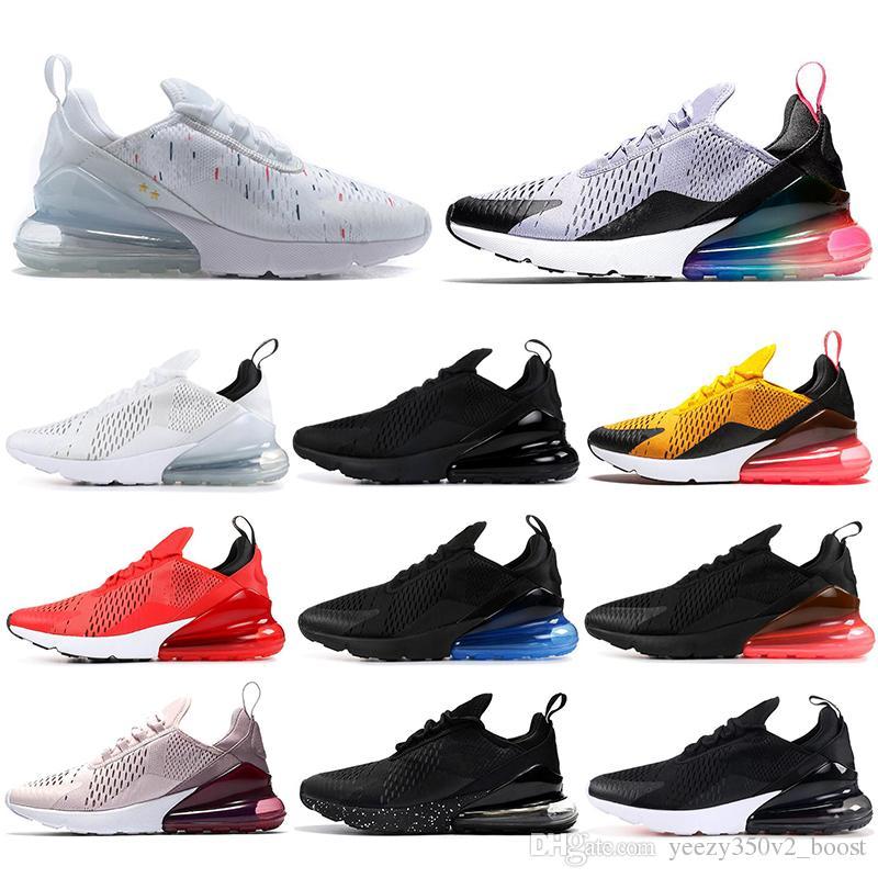 Großhandel Nike Air Max 270 27c Mit Socken 2019 Parra Hot Punch Foto Blau  Herren Damen Laufschuhe Dreifach Weiß Universität Rot Violett Habanero ...