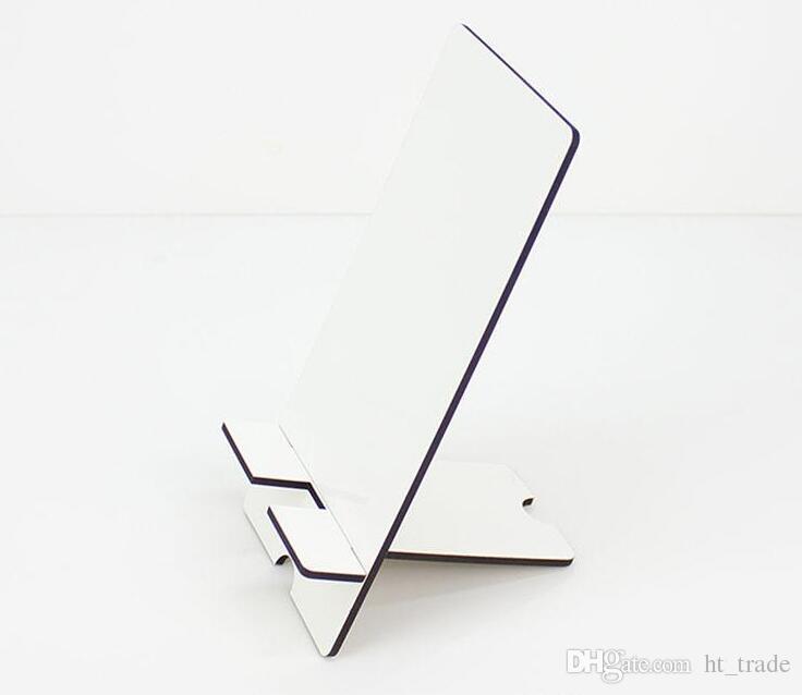 Cep telefonu mdf süblimasyon DIY için tutucu standları özelleştirilmiş boş cep telefonu evrensel dikdörtgen iPhone Sumsung için standları