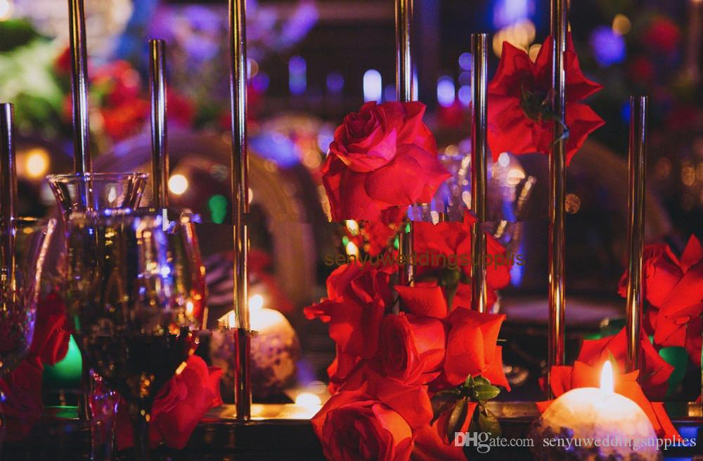 Hot sale decorative artificial flower wall backdrop stand silk fashion artificial flower wall wedding for decoration senyu0443