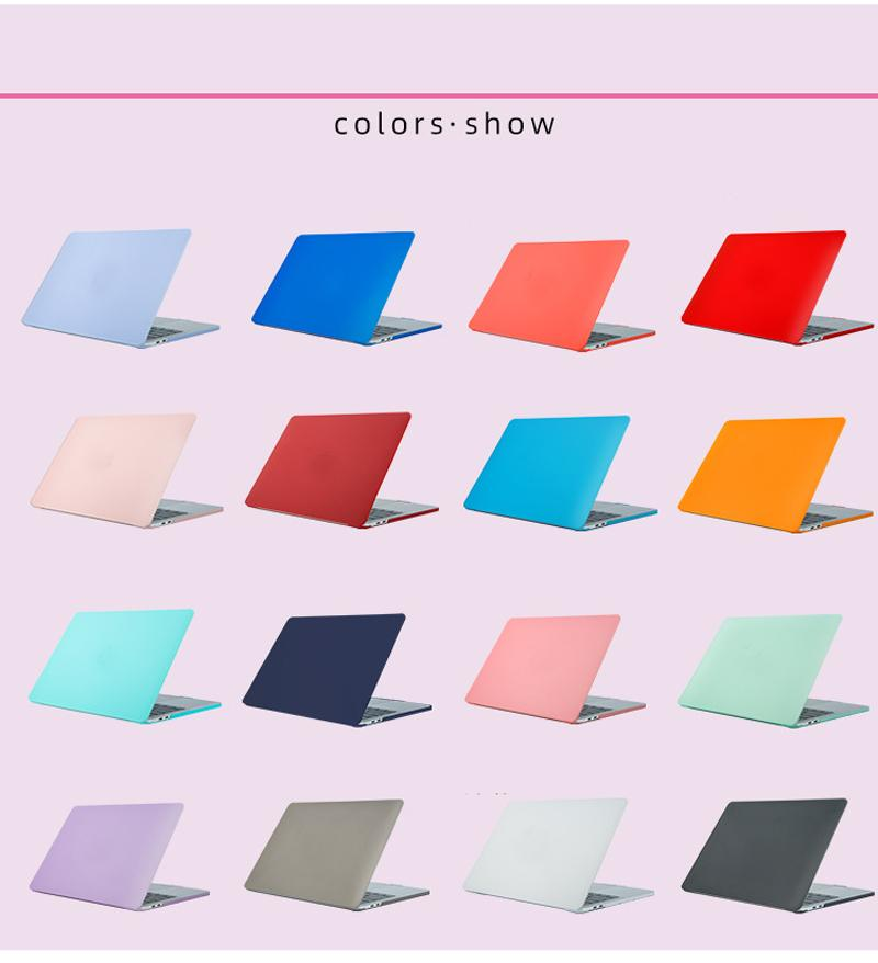 2020 New A2289 Laptop Case For Macbook Air 13 A1932 A2179 Pro 11 12 15 Case For Macbook Pro 16 A2141 Cover