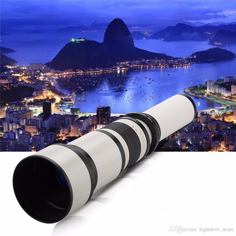 650-1300mm Camera Lens F8.0-16 Ultra Telephoto Zoom Lens with T-Mount for Nikon D3100 D3200 D3300 D3400 D5100 D5200 D5300 D7000 D7100 Camera