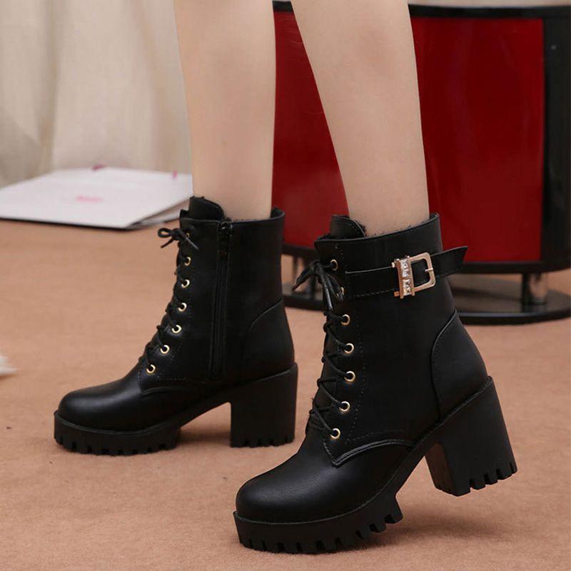 Hot Sale High Heel Boots Women Winter