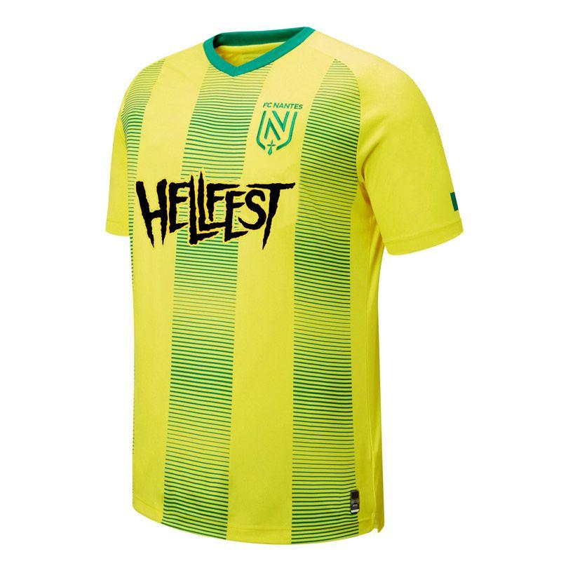 FC Nantes özel sürüm futbol formaları Sala Coulibaly Waris futbol forması 19 20 FC özel baskı sporları Erkek Tişörtler Nantes 2020 2019