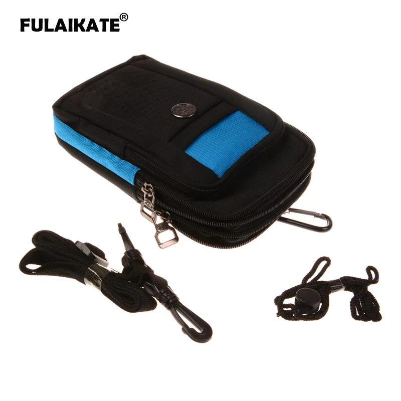 Fulikate 7 حقيبة الهاتف العالمي ل xiaomi mi max2 حزام الخصر الحقيبة لسامسونج غالاكسي ميجا 6.3 الرياضة الكتف t3 جيب حالة