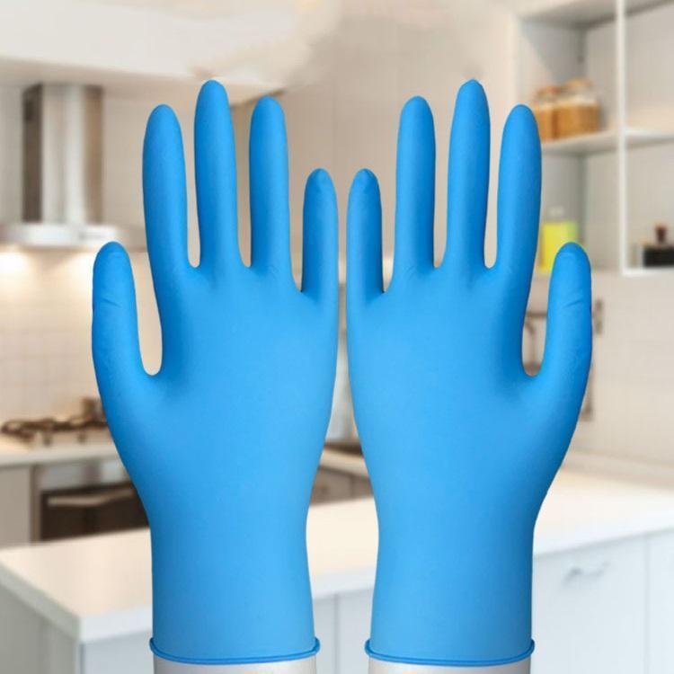 Yeni Ev Elastik tek kullanımlık mavi eldiven çevre koruma iş eldivenleri ev aşınmaya dayanıklı Temizleme Eldiven T3I5703