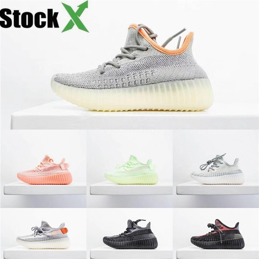 El bebé en línea zapatos de Kanye West Sply V2 cebra niños corriendo niños de los zapatos atléticos Beluga 2,0 deporte zapatilla de deporte # 817
