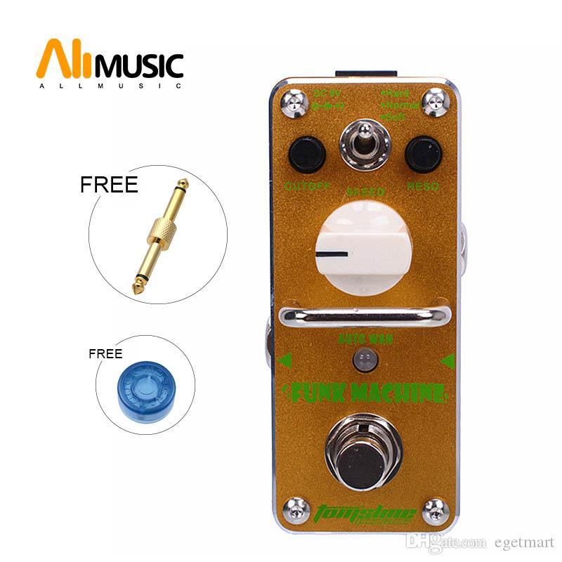 새로운 아로마 AFK-3 펑크 기계 자동 아 페달 미니 디지털 효과 트루 바이 패스 + 무료 커넥터