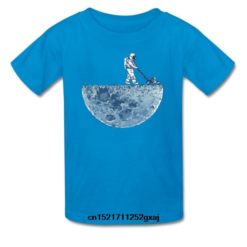 abbigliamento maglietta Uomini CCRowling bambini unisex di luna a breve manica girocollo XS Blu reale donne tshirt tshirt