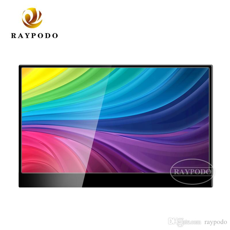 Raypodo Ultra slim 15.6 Inch portable touch screen gaming monitor with Type-C interface
