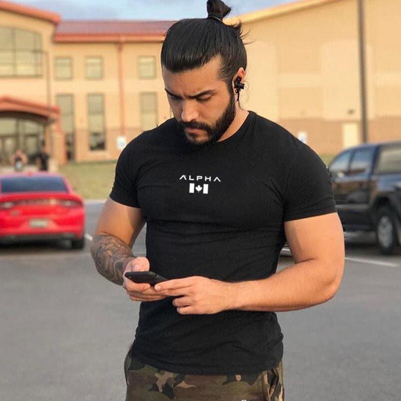 3D T-shirt imprimé de compression Collants Homme Fitness Course Chemise à manches courtes respirant Sport Rashgard Gym Cyclisme Vêtements