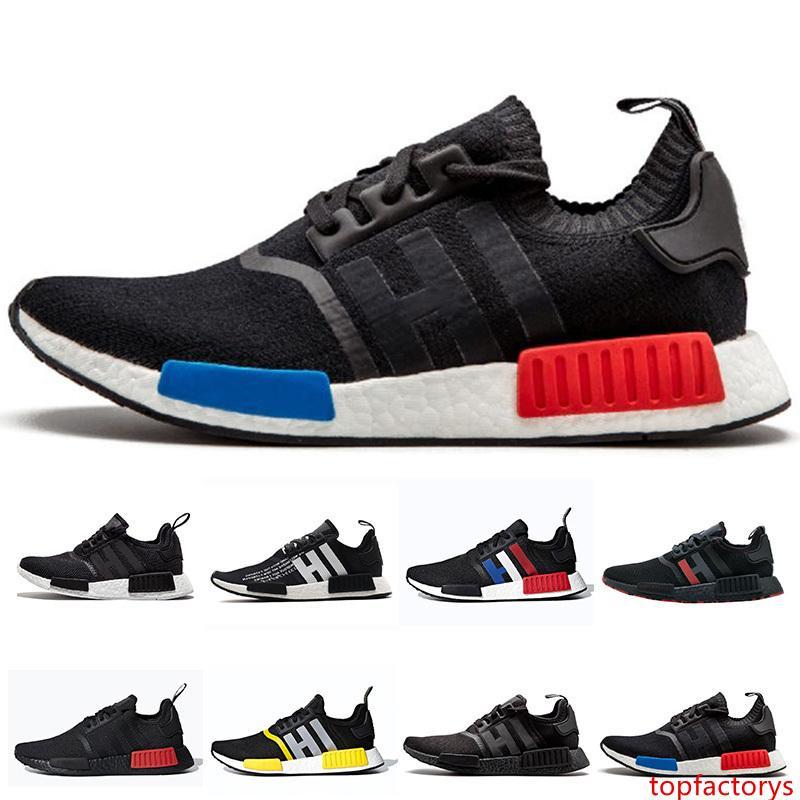 Fashion Designer Mens Sneakers donna corsa di sport dei pattini casuali nero Colorful gomma traspirante formatori calza il formato 36-45