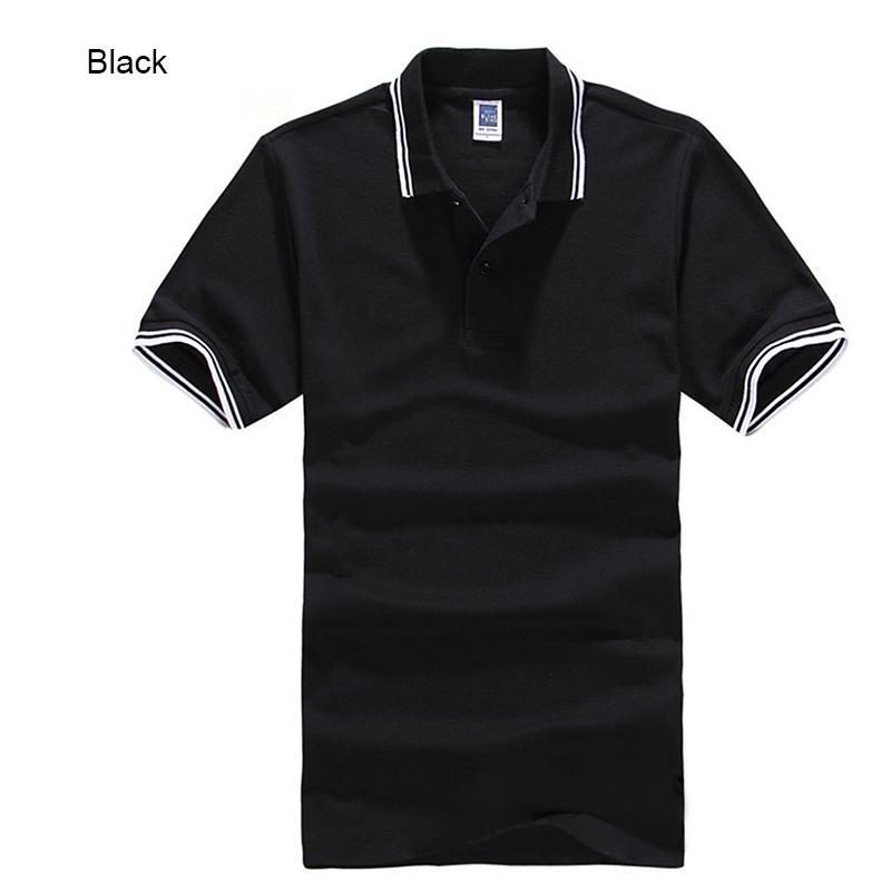 Los hombres de la marca 'S Polo para los hombres Desiger hombres de los polos de algodón Camiseta de manga corta de ropa jerseys Golftennis más el tamaño Xs -Xxxl