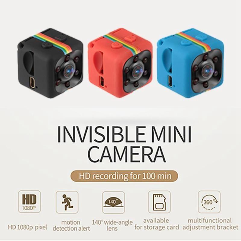 Videocamera Mini Videocamera SQ11 Full HD 1080P IR Night Vision Videocamera Rilevatore di movimento mini DV DVR Micro Camera PK SQ8 SQ10