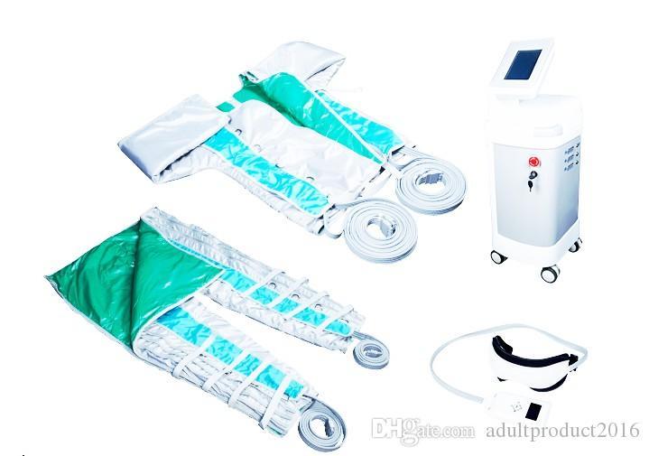 Yeni gelen !!! 24 Odalar Hava Basıncı Hava Sıkıştırma Vücut Masajı Presso Terapi Lenf Drenaj Makinesi