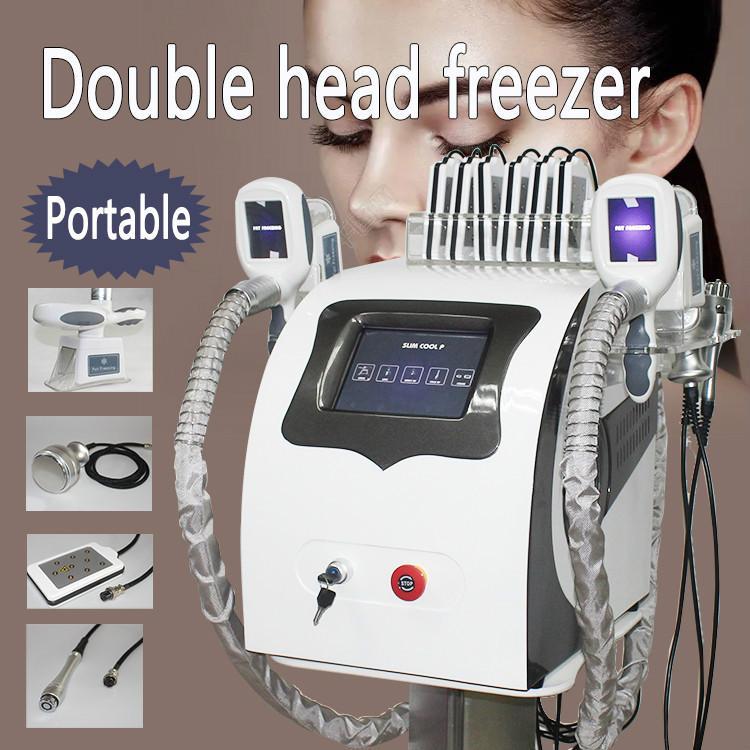 Coolplas Fat Loss Congelamento Peso da máquina Slimming com 2 alças Cryo Grau Arrefecer Tecnologia Mini Fat Congelar Handle