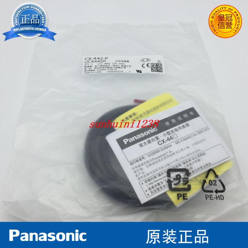 CX-441-P CX-442-P CX-443-P CX-444-P Tipo de refletores de alcance ajustável Sensor de interruptor fotoelétrico Original Novo