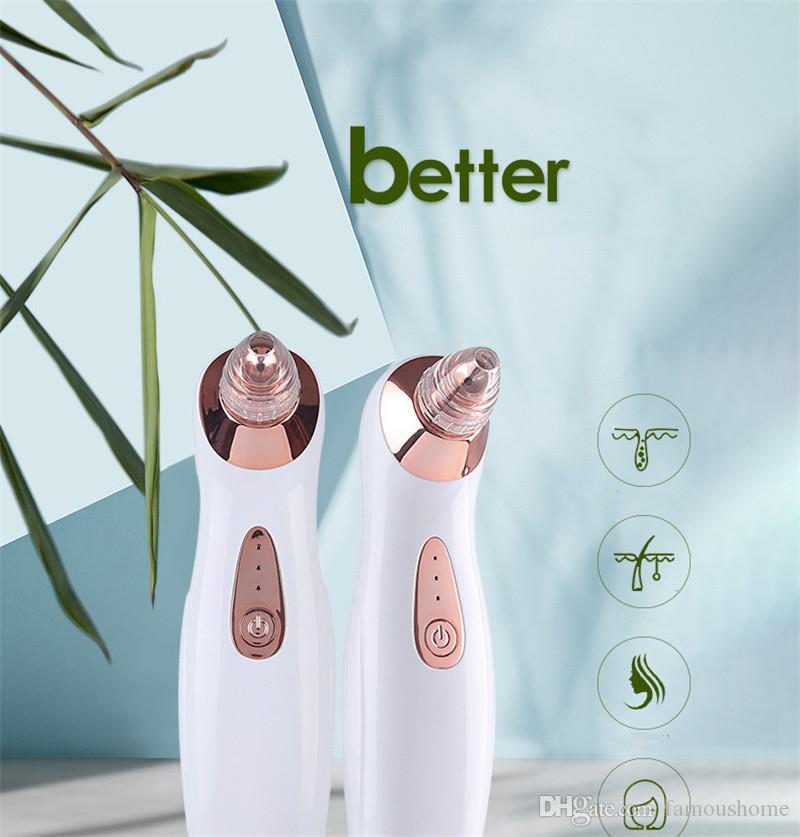 Pulitore portatile per la rimozione dei punti neri di rimozione della testina del poro di rimozione della testina del pettine USB di Microdermoabrasione