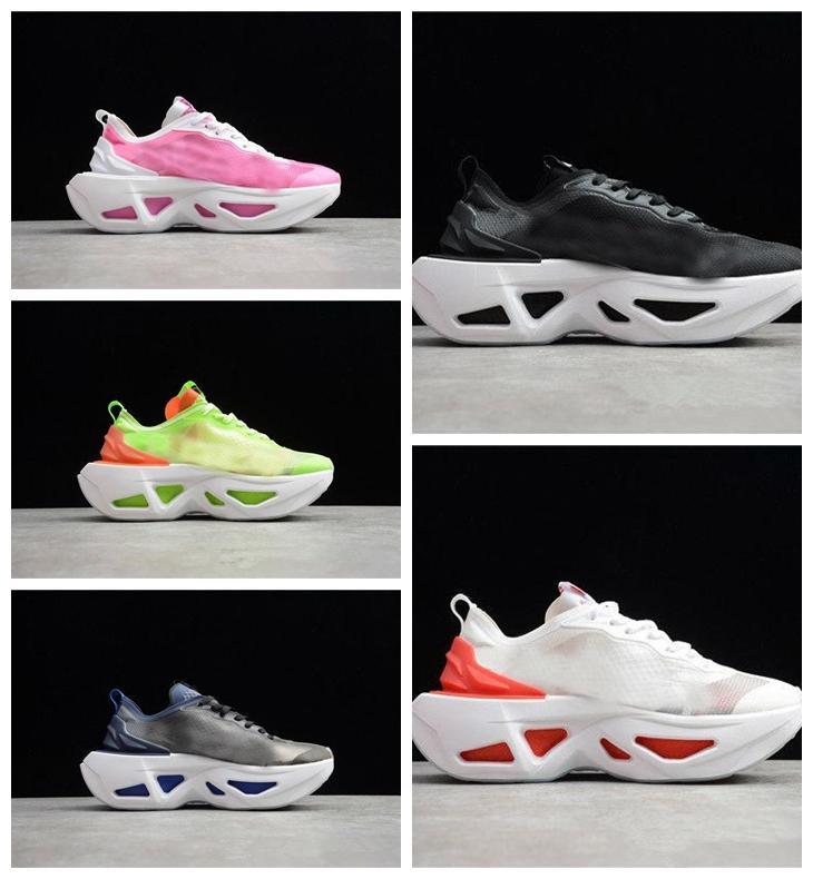 sapatos de alta qualidade ZoomX Vista Moer brilhante carmesim volts sapatos Wmns Zoom X Segida Outdoor Sports tênis 36-45