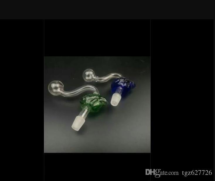 Newfrog POT all'ingrosso di vetro bong Tubi Oil Burner bicchiere d'acqua tubi in vetro tubo di olio rig fumatori spedizione gratuita