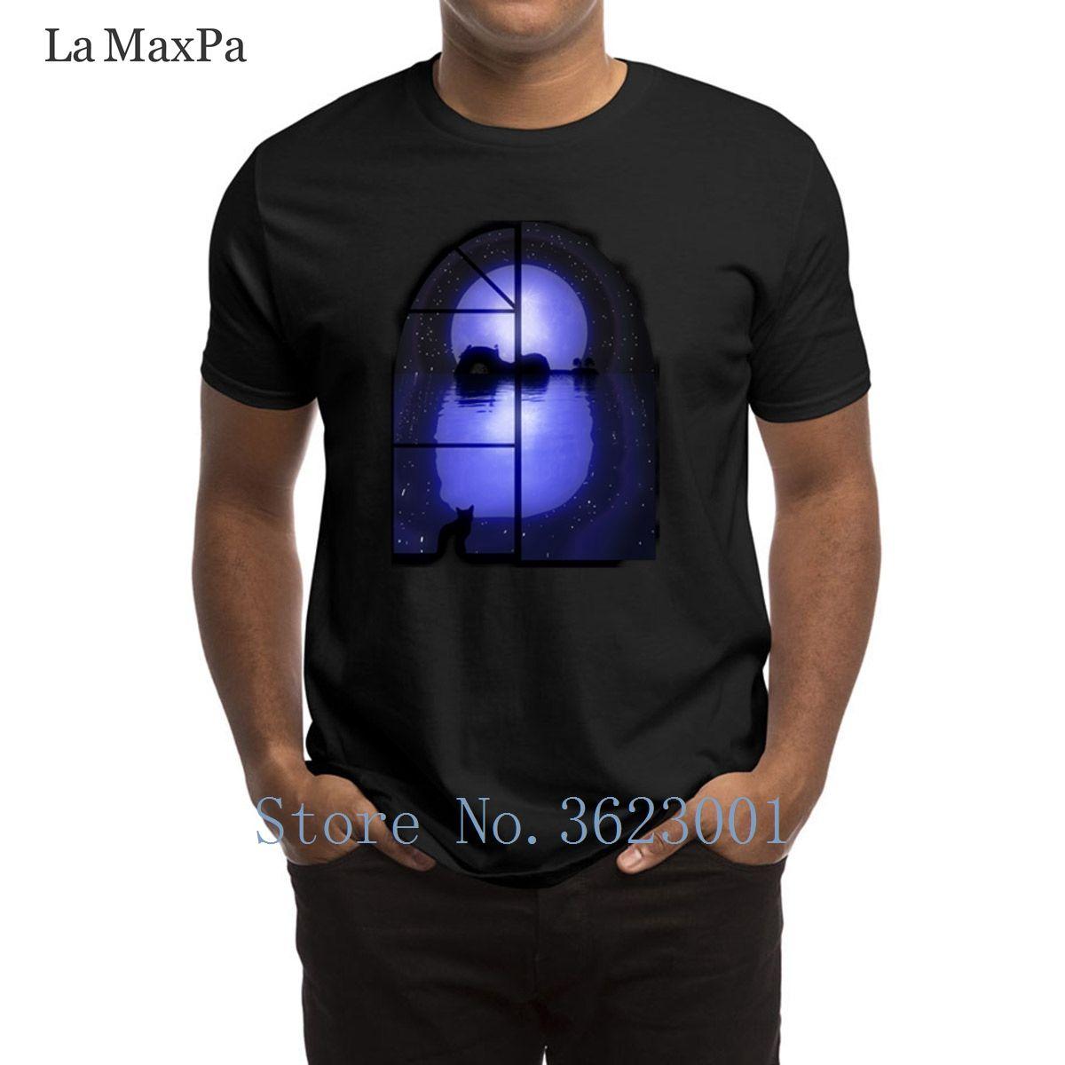 Stampa A Little Night Music T Shirt Famiglia T-shirt per Uomo Abbigliamento Strano Tee Shirt Moda manica corta maglietta superiore