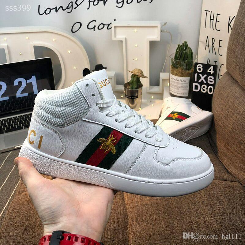 2020 New Men's Shoe Casual Wild European And American Small White shoes Men's Tide shoes Leather Couple Board shoes Factory Outlet