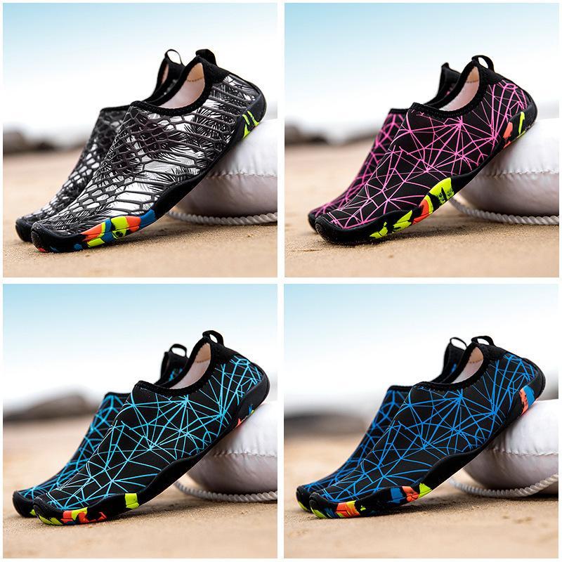 modelli paio di scarpe da spiaggia Nuoto Sub scarpe Vendite dirette della fabbrica Ruscello Scarpe padre-figlio Wading scarpe di pelle di asciugatura rapida scarpe