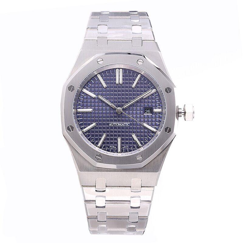 montre de luxe mens orologio automatico orologi d'oro 42mm in acciaio inox orologio da polso impermeabile luminoso orologio zaffiro orologio di lusso 5ATM