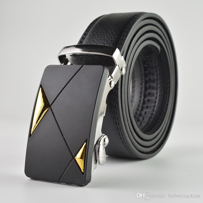 Belt for Men Micro Fiber Head Layer Automatic Buckle Belt High Quality Casual Business Youth Belt