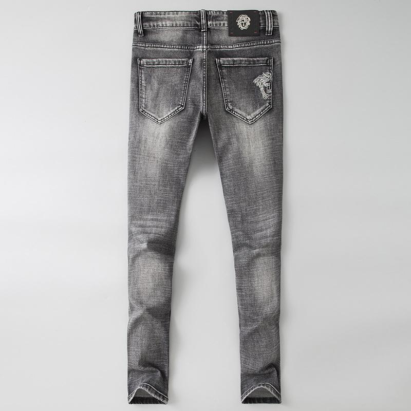 Новая мода Мужская одежда Original Design Мужчины Мода джинсы Идеальные качества Брюки прямые Брюки G550