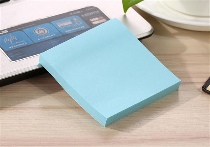 la impresión de notas bloc de notas nota adhesiva papel escuela y la oficina utilizan viscosidad fuerte fácil de usar