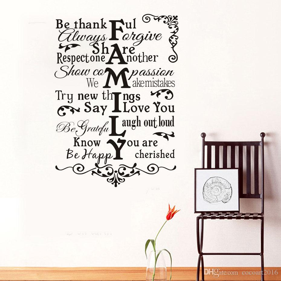 1 pz dire che ti amo vinile wall sticker per bambini camere home decor divano camera da letto bagno decalcomania di arte fai da te fiori carta da parati decorazione