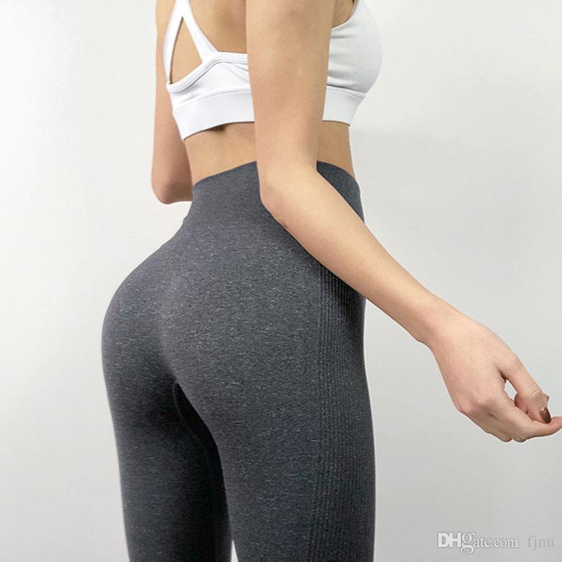Stretchy Pants Seamless Leggings Tummy Control Yoga Leggings High Waist Booty Leggings Sport Fitness Gym Legging Athletic Tights Quick dry