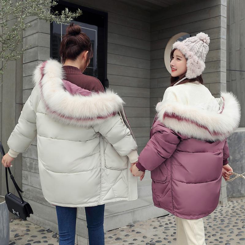 Volver mujer de la ropa de vestir Short Boudoir hermanas engrosamiento Mantener estilo cálido Fácil Thin Código soltará capa de la chaqueta de algodón acolchado