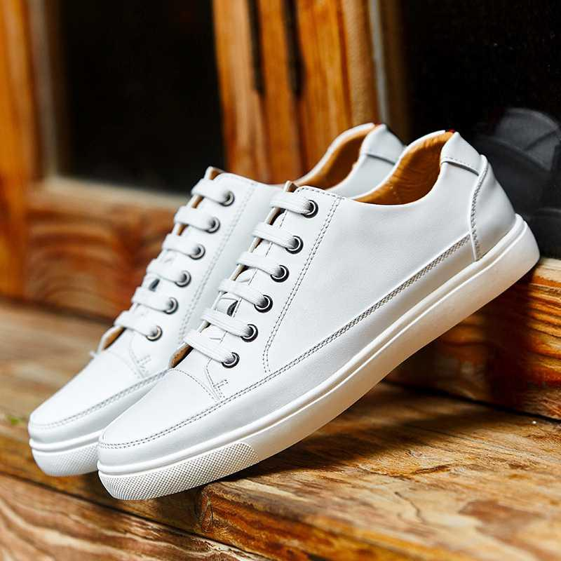 Chaussures Casual Adulte Hommes de dentelle de Mode en plein air Chaussures de sport respirant Homme plat Chaussures Hommes Chaussures Homme