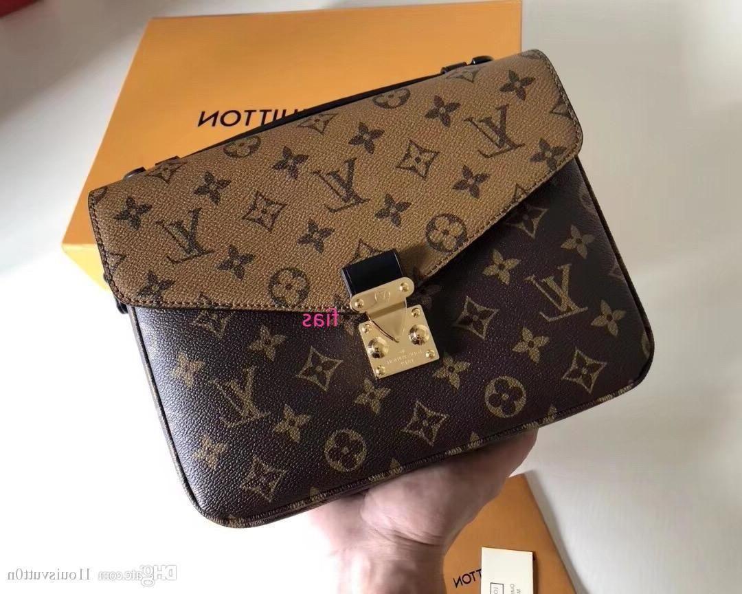 New L1ouisvutt0n Sacs à main simple sac à bandoulière femmes S Hommes S Sacs à dos classique élégant sac à main en cuir Fmasou Barnd M41465 852
