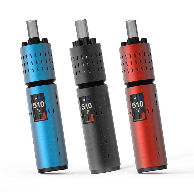 B1 nouvelle batterie Pro 3400mAh prennent en charge jusqu'à 15 sessions vaping 9 secondes Temps de préchauffage Température la plus élevée peut atteindre 510F