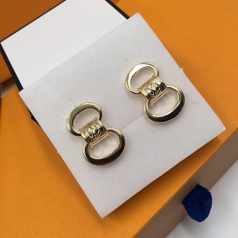 Nachtclub-Partei-Frauen Ohrringe INS Fashion Matel Stud für Damen-einfache Art Geometric übertriebenen Ohrring