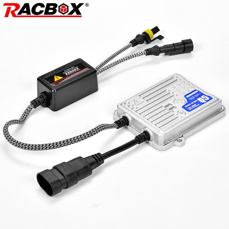 RACBOX 12V 55W AC Ксенон HID Тонкий Балласт Быстрый Яркое Быстрый старт для Ксенон лампы Свет лампы H1 H3 H4 H7 H11 9005 9006