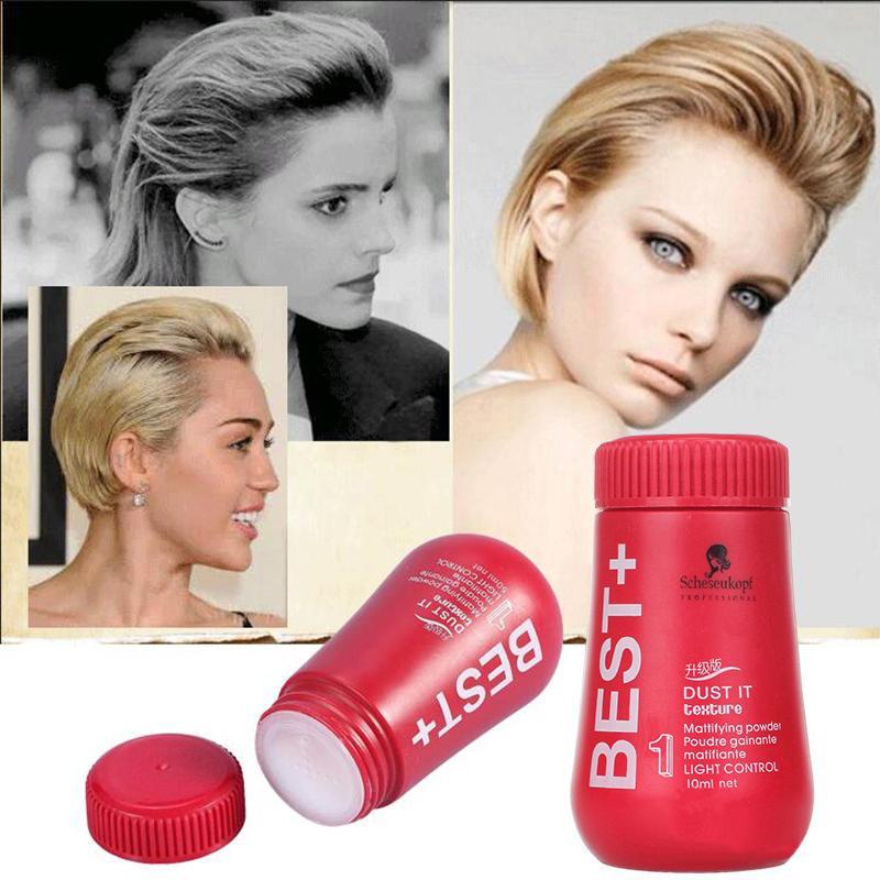 مسحوق 50ML للشعر لحجم الشعر مسحوق الشعر الشمع مرهم لتصفيف مثبتا للشعر مسحوق إطفاء اللمعة زيادة حجم يلتقط شحن مجاني
