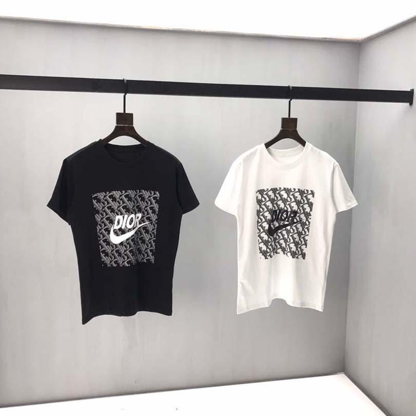 2020 Estate Uomo Donna T INS Corea retro allentato selvaggio Kodak Lettera a maniche corte KODAK 100% cotone della maglietta di Hip Hop degli uomini delle parti superiori di formato Unisex UE