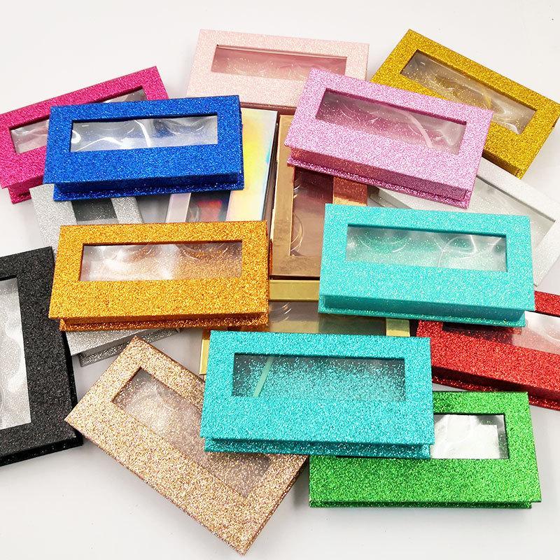 빈 속눈썹 포장 상자 사용자 정의 할 수 있습니다. 로고 25mm 3D 밍크 Lashes 거짓 속눈썹 상자 메이크업 눈 속눈썹 저장 케이스