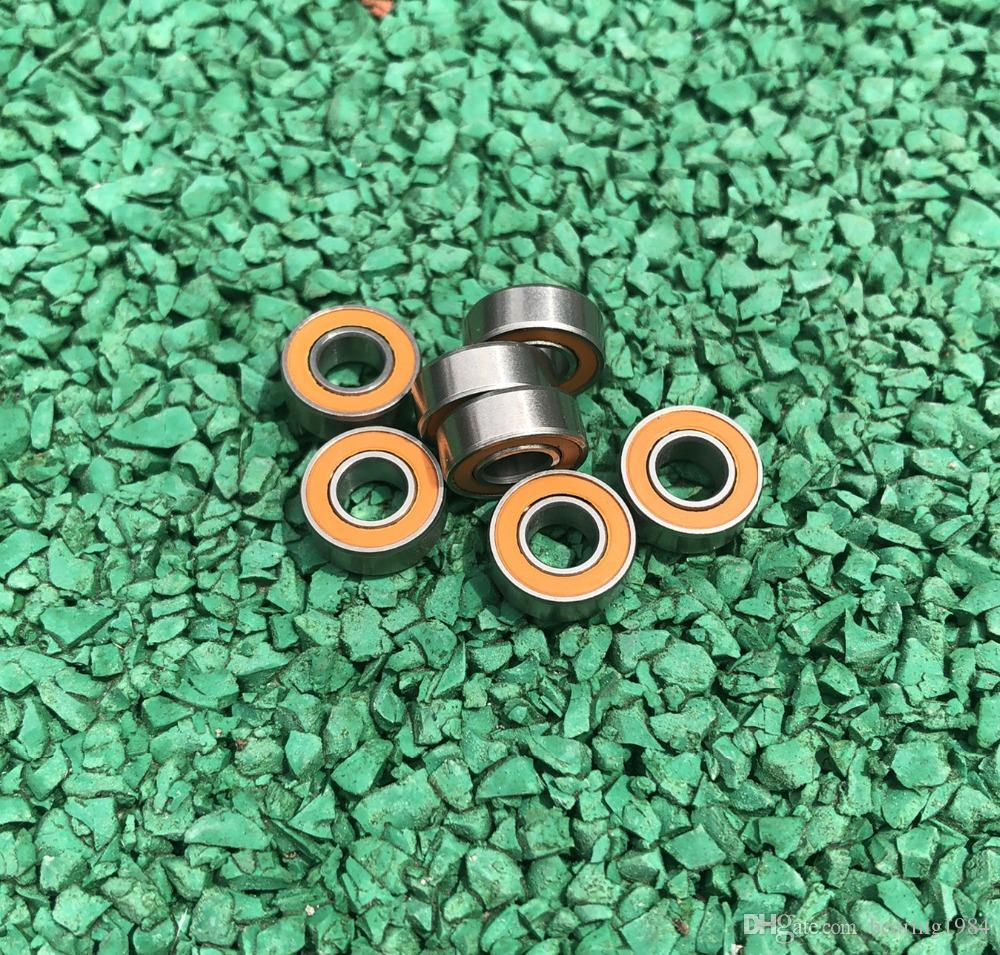 440c Stainless Steel Metal Rubber Seal Ball Bearings 6x12x4 mm 10pc SMR126-2rs