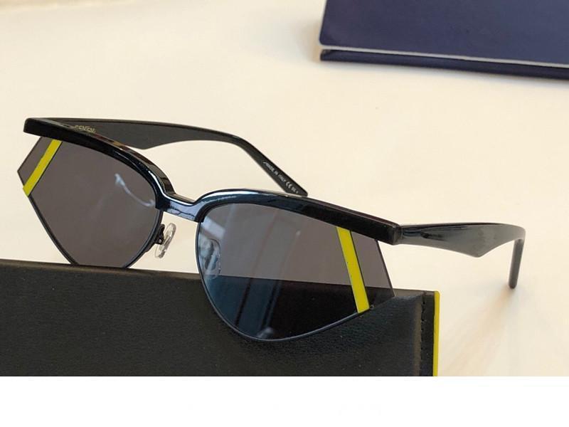 0369 роскошные солнцезащитные очки для женщин специальная защита от ультрафиолета женщины дизайнер старинные маленькие кошачьи глаза рамка высокое качество поставляются с пакетом