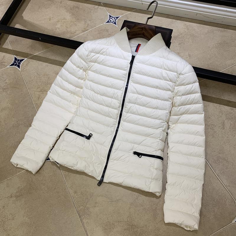 Veste femme vers le bas Parkas Coupe courte hiver vêtements de plein air chaud épais nouveau ski costume Col européen Stand authentique Casual MONCEA1XOUU