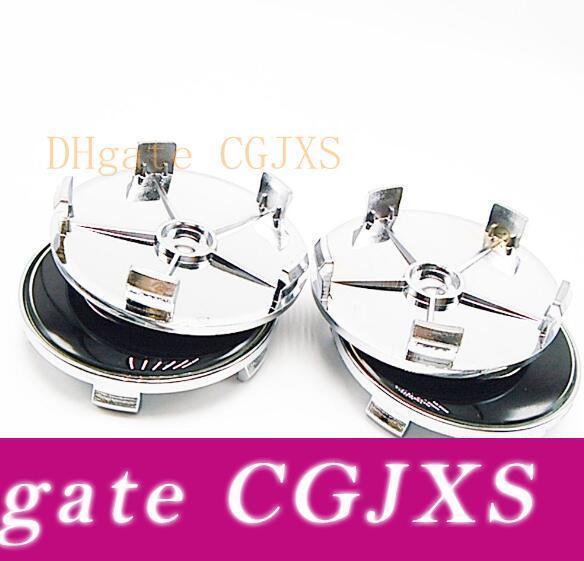 40PCS عالية الجودة / 68MM لوط عجل مركز غطاء أزرق / أبيض شعار لE40 E36 E39 E46 E45 E90 M3 316 318 Z4 X5 سلسلة 1 عن طريق DHL شحن مجاني