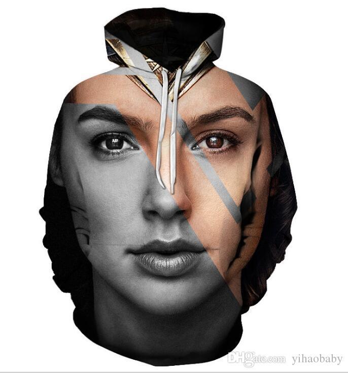 New Superhero Superman 3D Digital Printed Men's Tide Hat Guard 01