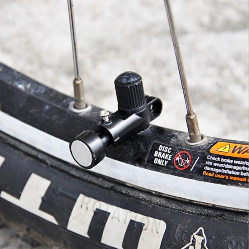 Strumenti Codice testa tavolo magnete universale tachimetro bicicletta metallo plastica retrattile portatile Bike Speed Wheel di misura